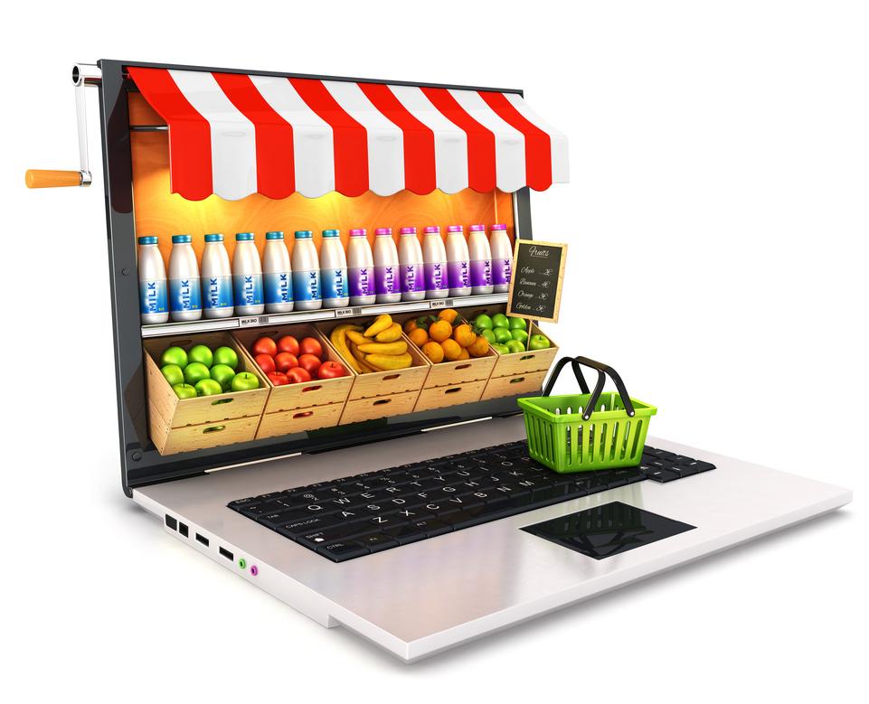 E-commerce laptop store
