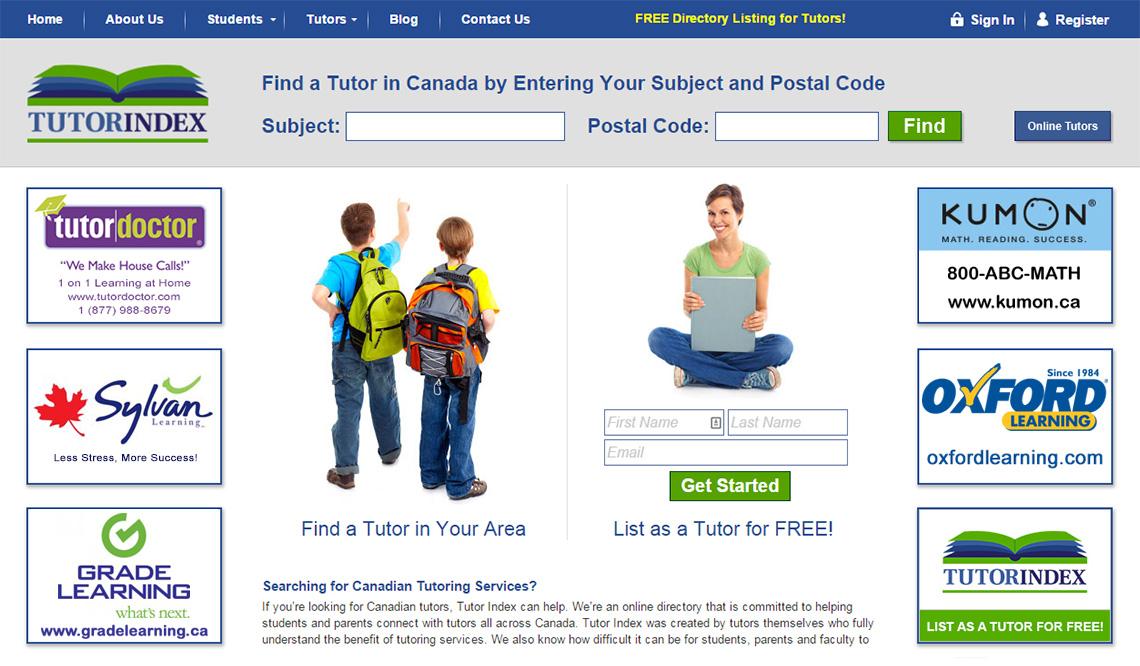 tutor-index-web-design
