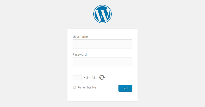 wordpress-captcha-login